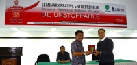 SEMINAR CREATIVE ENTREPRENEUR Be Unstoppable...!